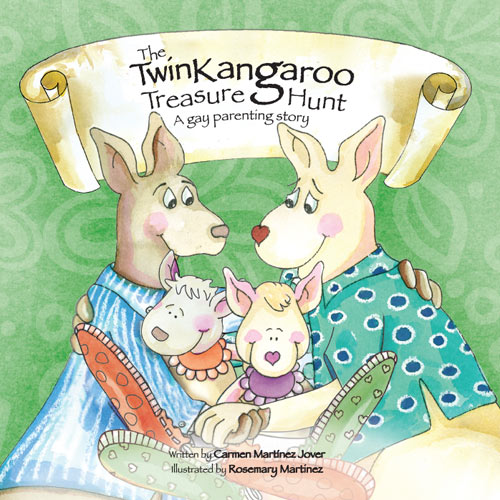 THE TWIN KANGAROO TREASURE HUNT, A GAY PARENTING STORY